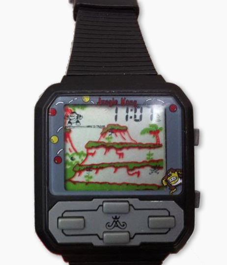 Cresta Halion Jungle Kong Wrist Watch LCD Game