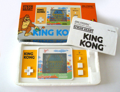 Tiger King Kong Wide Screen LCD Handheld Game Watch Orlitronic Virca Ecran Geant Grande Schermo