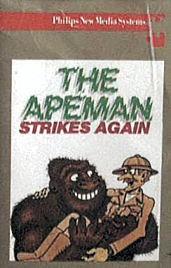 The Apeman Strikes Again for MSX Computer