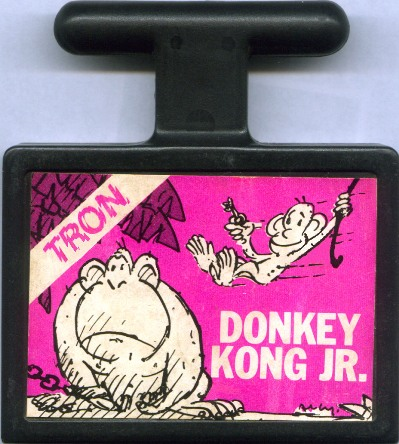 Donkey Kong Jr by Tron T-handle Cartridge for Atari 2600